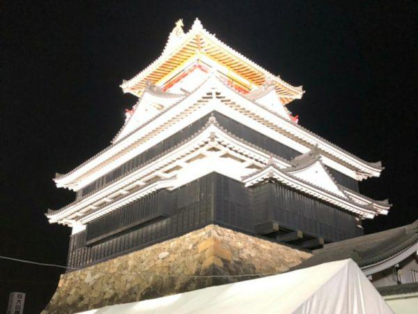 清須市商工会青年部 清須市納涼盆踊り 清洲城