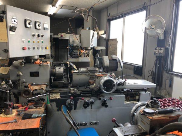 岩倉市 金属加工 工作機械 円筒 内面 平面 三重研磨 研削