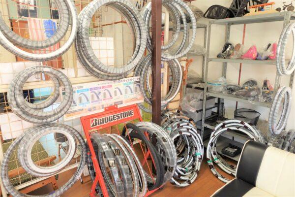 岩倉市 いとうサイクル 自転車 修理 パンク修理 自転車用品