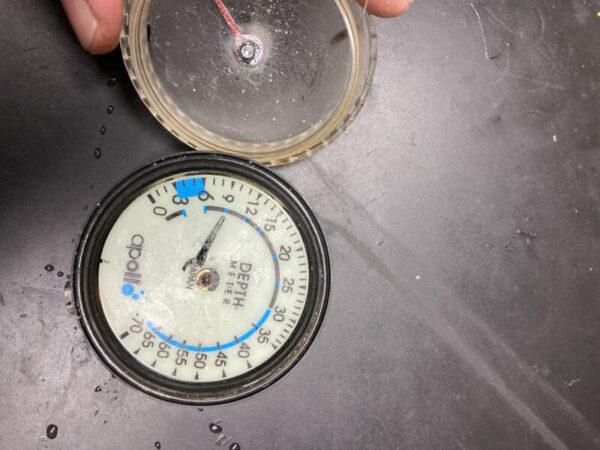 アポロ デプスメーター 浸水
