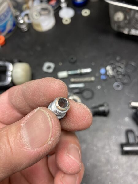 RS230 オリフィス汚れ