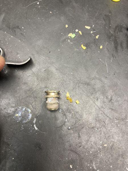 ABSオクトパス オリフィス汚れ